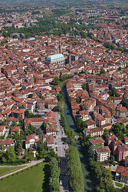 panorama of Vicenza